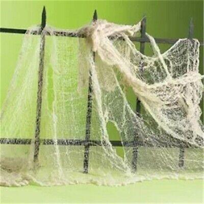 100*76cm Halloween Creepy Gauze Cloth Door House Decor Gothic Props Party Decor