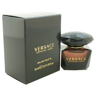 Versace Crystal Noir for Women - 5 ml EDT Splash (Mini)