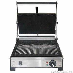 Commercial Contact Grills PG-01A Contact Grill with Timer Benchto Melbourne CBD Melbourne City Preview