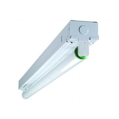 NICOR 10391EB 3 ft. Single Lamp T8 Fluorescent Linear Strip Light Fixture