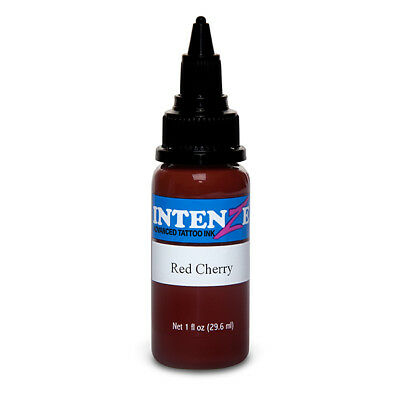 (Red Cherry - Intenze Tattoo Ink - Pick Your Size 1oz, 2oz, or 4oz Bottle)