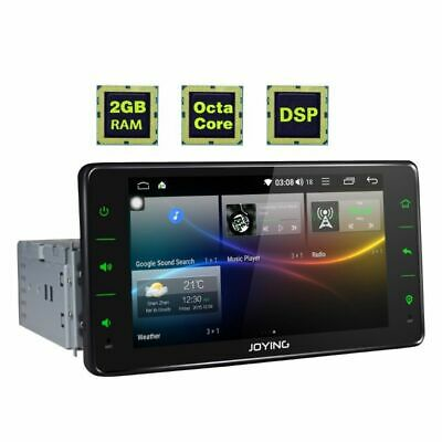 Android 8.0 Single Din Car Audio Stereo with GPS Navi System DSP FM Radio Player