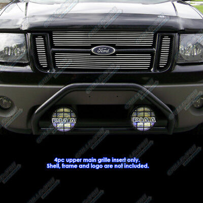 Fits 01-06 Ford Explorer Sport Trac Main Upper Billet Grille Insert 2001 Ford Explorer Grille