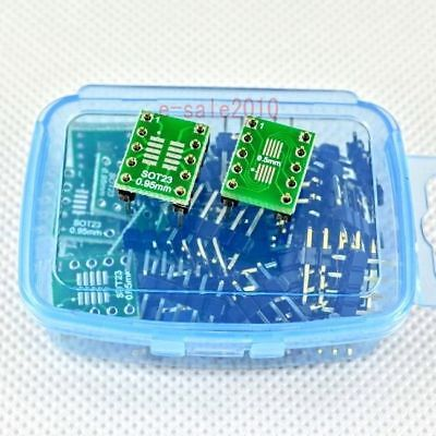 20 Pcs Sot23 Msop10 Umax10 To Dip10 Adapter Converter Diy Pcb Board New 241a