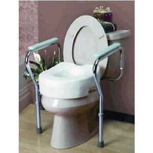 Toilet Bathroom Safety Frame Rail Medical 25 3/-30