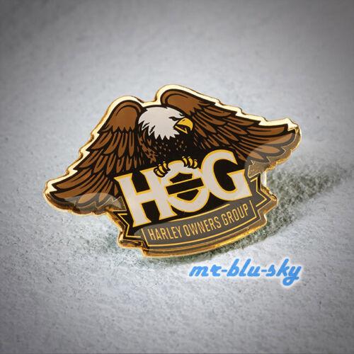 Enamel Brass Eagle Pin ~ Harley Davidson Owners Group HOG  H.O.G.