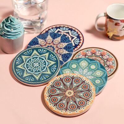 Pad Tea (Ceramic Cup Tea Mug Mat Pad Drink Coaster Absorbent Coaster Barware)