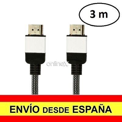 Cable HDMI Macho a HDMI Macho Alta Velocidad V0.2 7mm 3 Metros...