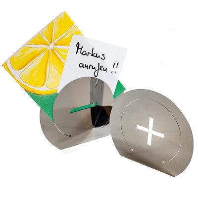 2er Set Kartenhalter +/-, Fotohalter,Grußkartenhalter,Bilderrahmen,Memoklammer