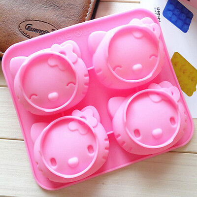 hello kitty silicone cake mold DIY chocolate mould Fondant cake decoration mold - Hello Kitty Cake Decor
