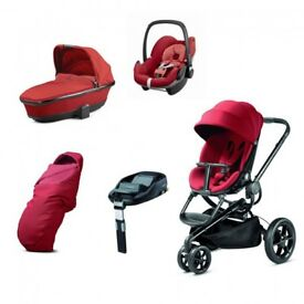 Quinny Moodd, Travel system 3in1 pram
