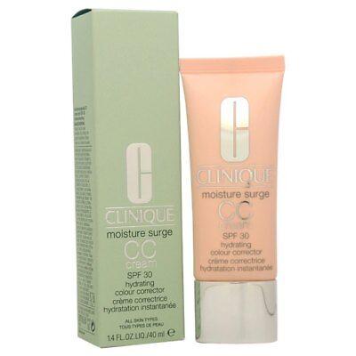 CLINIQUE Moisture Surge CC Cream Hydrating Colour Corrector 1.4oz ~ Light (Moisture Surge Cc Cream Hydrating Colour Corrector)
