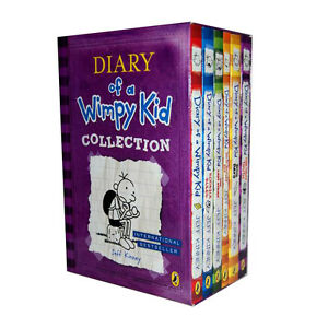 Diary of a Wimpy Kid Collection 6 Books Set