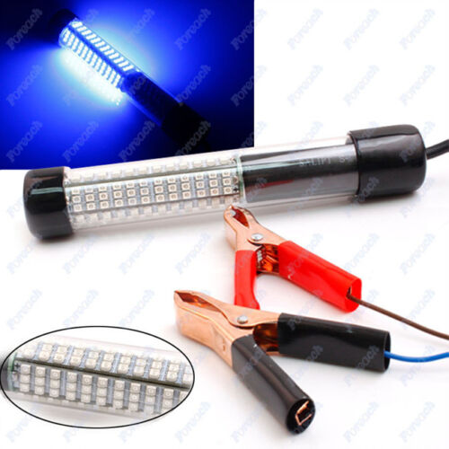 Led underwater submersible boat night fishing light for Night fishing lights for boats