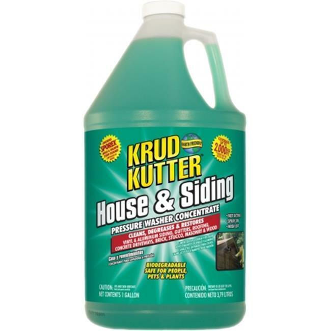 Krud Kutter HS0.25 1 Gallon House & Siding Cleaner - Pack of 4