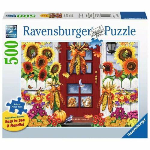 Autumn Birds 500 Large Format Piece Puzzle