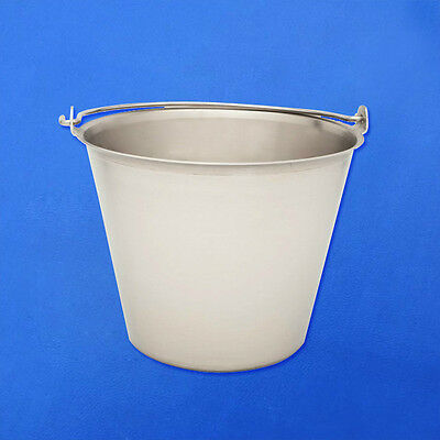Stainless Steel Pail 9 Quart Grade A Quality Veterinar