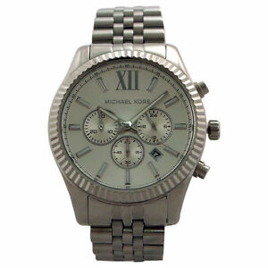 17cf09524dbe Michael Kors Lexington MK8405 Wrist Watch for Men 45mm Case for sale ...
