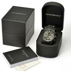 EMPORIO ARMANI MENS WATCH AR5889 12 MONTHS WARRANTY