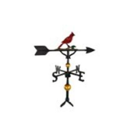 (Montague Metal Products 300 Series 32 In. Deluxe Color Cardinal Weathervane)