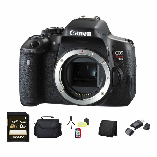 Canon EOS 750D - Rebel T6i from Big VALUE Inc