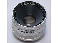 Minolta Rokkor 4.5 / 75mm Enlarging lens