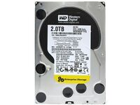 3x Western Digital RE4 Enterprise Hard Drives (High quality, suitable for NAS and server)