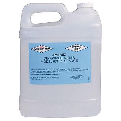 Deionized-water Extinguishing Agent For 1.75gal Fire Extinguisher 2 Pk