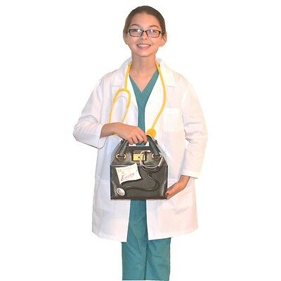 Kids Doctor Costume with REAL Scrubs, Lab Coat, Bag and Stethoscope](Costumes With Lab Coats)