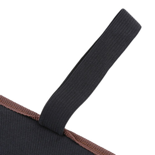 Wrench Roll-Up Tool Organizer Bag Pouch Portable Canvas Pocket Holder Case FM