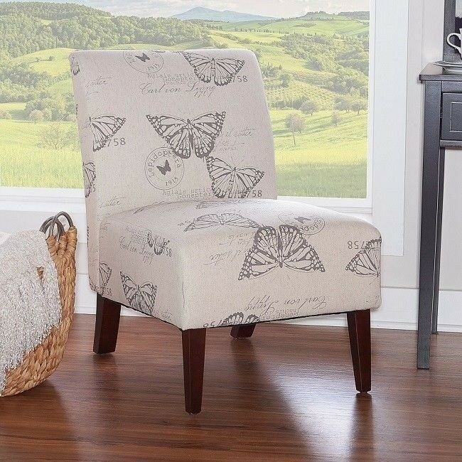 Small Accent Chair Chairs For Bedroom Unique Corner Butterfl