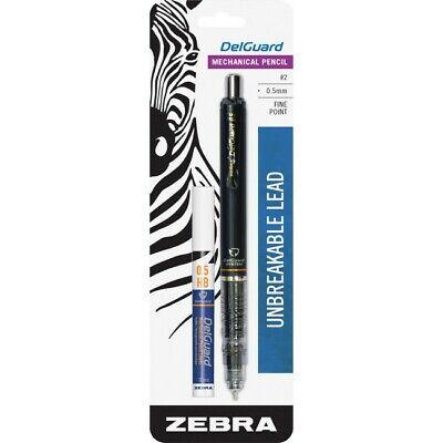 Lot Of 4 Zebra Delguard Mechanical Pencil 0.5mm Unbreakable Lead