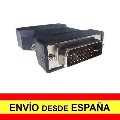 Adaptador Prolongador DVI-I (24+5) Macho a DVI-I (24+5) Macho a1687