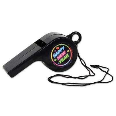 Happy New Year Giant Whistle New Years Eve Party Supplies & Decorations