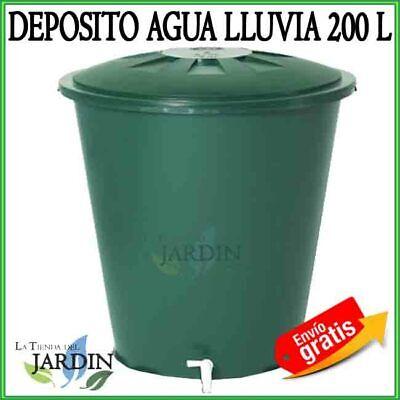 Deposit Water 200 Litres Water Rain Tap Lid Jerry Can Polypropylene