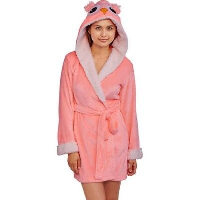 (Body Candy Huggable Luxe Critter Sleepwear Robe Size Medium )