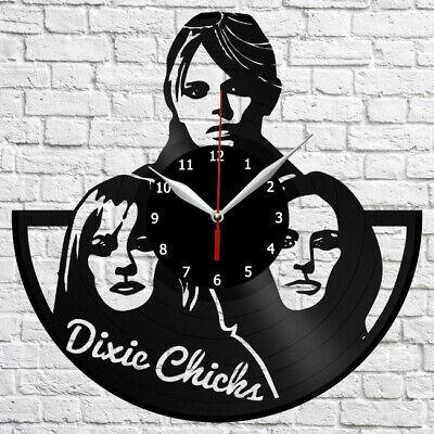 Dixie Chicks Vinyl Record Wall Clock Home Fan Art Deco 12'' 3 cm 4390
