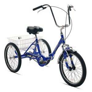 KENT ADULT FOLDING TRICYCLE - NEW