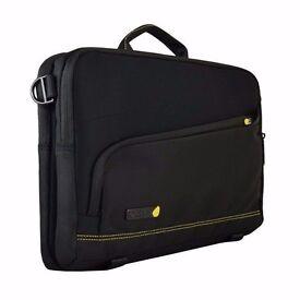 "Brand new Laptop Bag - TECHAIR 2-in-1 TAUBS003 13"" Ultrabook™ Sleeve - Black/yellow"