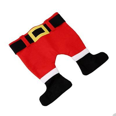 Funny Christmas Santa Pants Hat Christmas Party Dress Up Costume Props MP