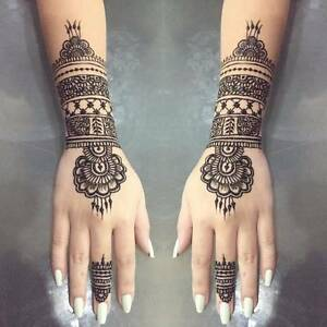 Henna Temporary Tattoos Art Mehndi From $5 City Area NO PAIN Kangaroo Point Brisbane South East Preview