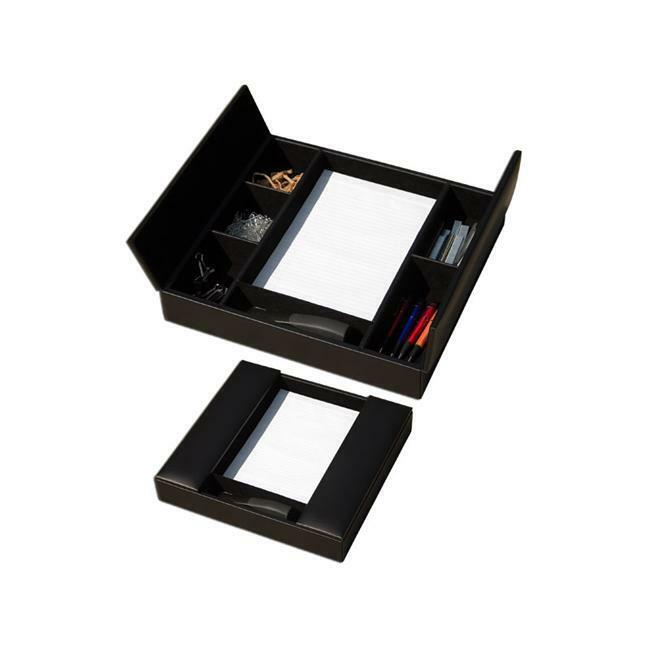 Dacasso A1090 Leather Conference Room Organizer