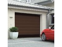 Hormann Sectional Electric Garage Door with 2 Remotes