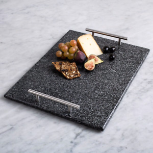 Brand new granite serving tray with handle