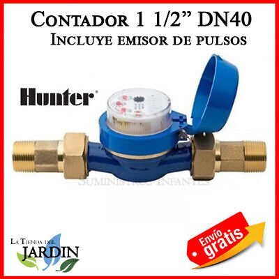 Counter Water Irrigation Hunter Hydrawise 1 1/2