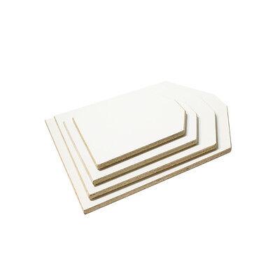 Screen Printing Platen / Pallet Starter Kit - 4 Neck Cut Platens / Wood platens