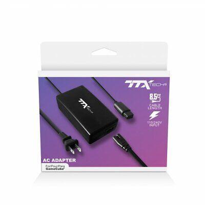 TTX Tech AC Adaptador - 0.55 Watts,Recambio Gamecube Cable de Energía Con...