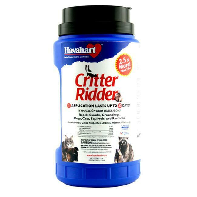 Woodstream Coropration 3146 Critter Ridder Animal Repellent 5 lb. Granules