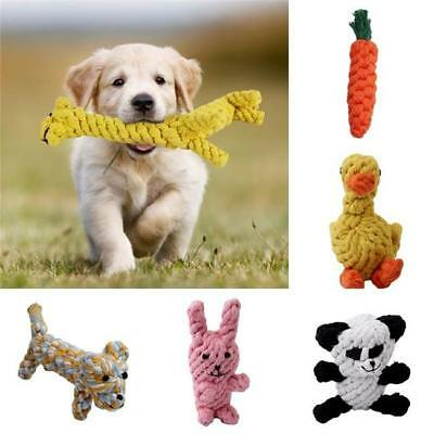 Pet Chew Toys Braided Rope Indestructible Dog Teeth Dental Cleaner YW