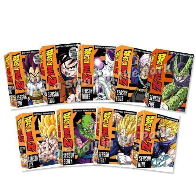 Dragon Ball Z The Complete UNCUT Seasons 1-9 DVD Series 1 2 3 4 5 6 7 8 9 New